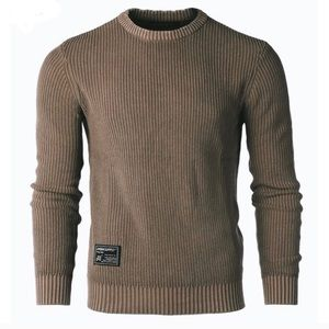 Host Pick!NWT Mens Brown Ribbed Sweater distressed